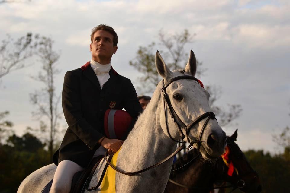 pietro roman equitación