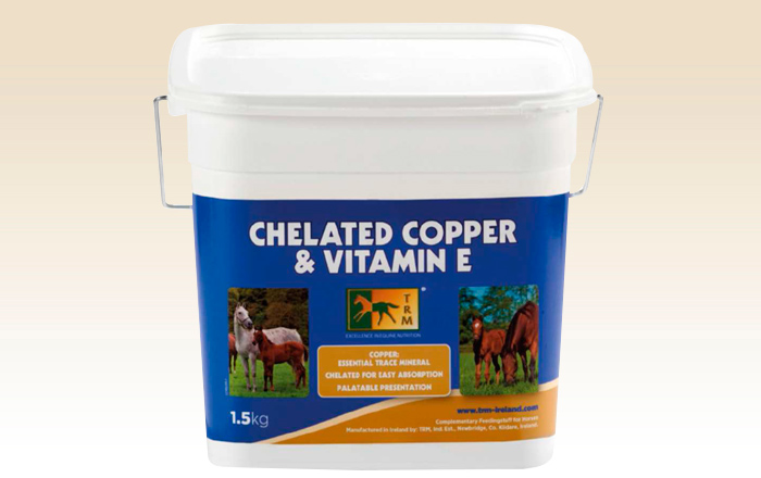 Chelated Copper & Vitamin E